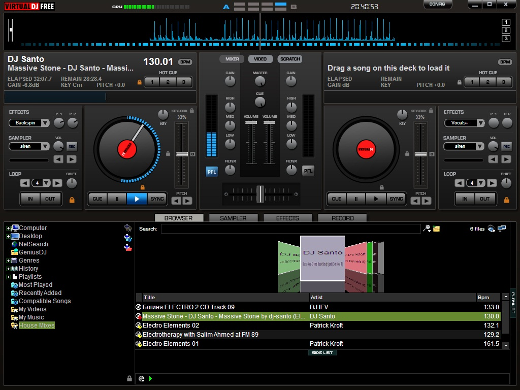 Download dj promixer free 1. 0.